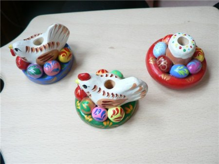 Изделия из соленого теста в интерьере