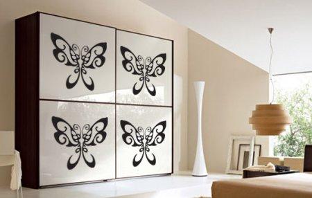 Декоративные наклейки - дизайн за 5 минут