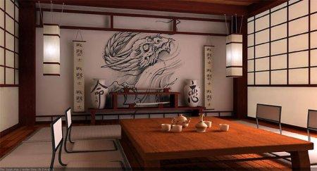Японский стиль интерьера вашей комнаты