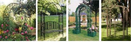 Пара идей для садового участка