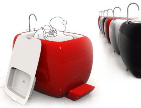 И снова дизайнерские идеи для ванн