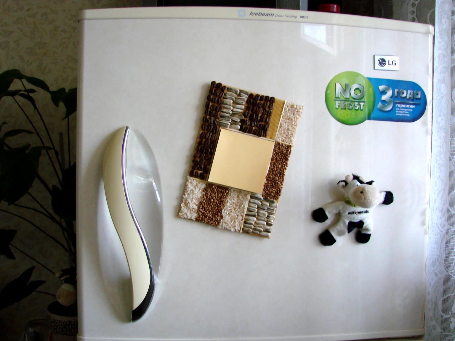 Магнитный блокнот на холодильник своими руками