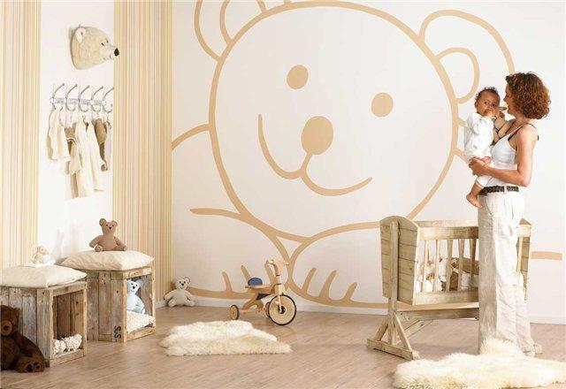 Украшаем комнату для новорожденного своими руками