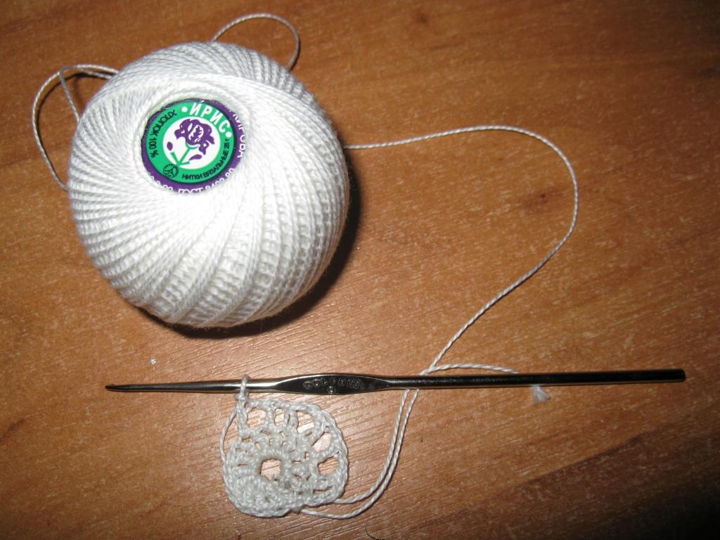 Уроки вязание крючком салфетки