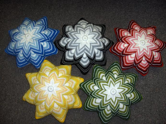 Вязание подушек игрушки схемы.