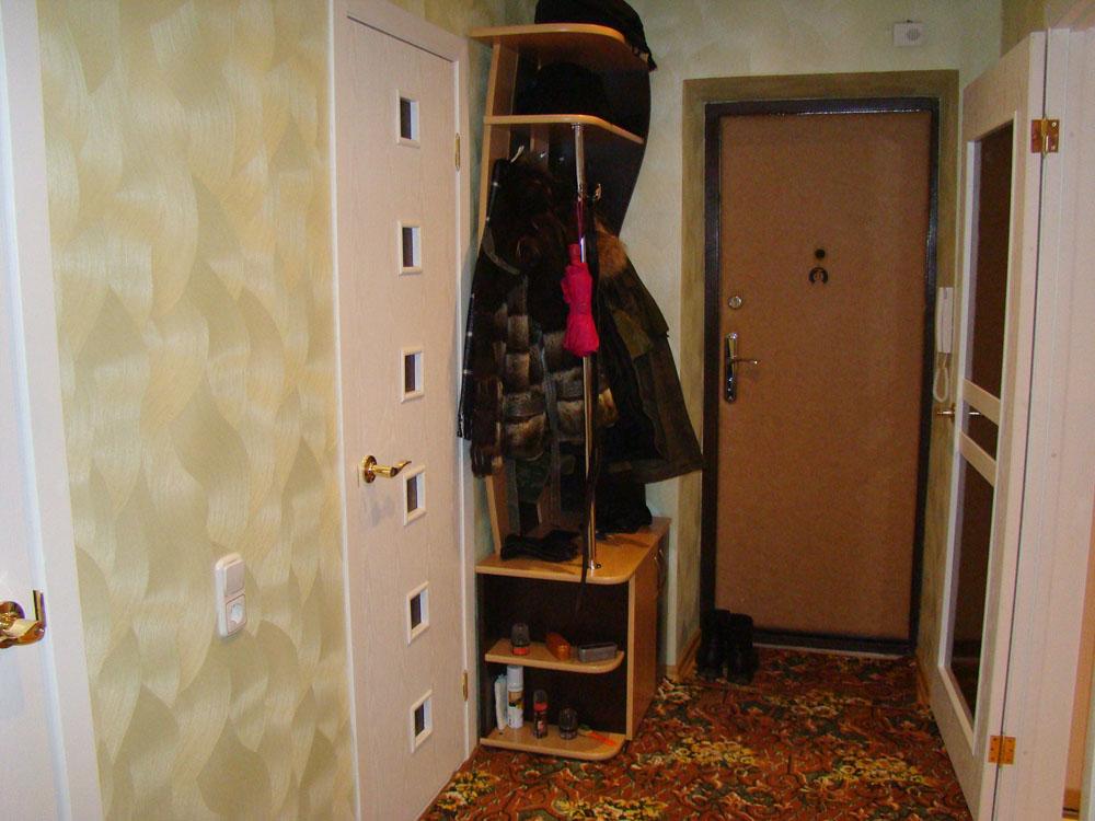 Как сделать прихожую в однокомнатной квартире
