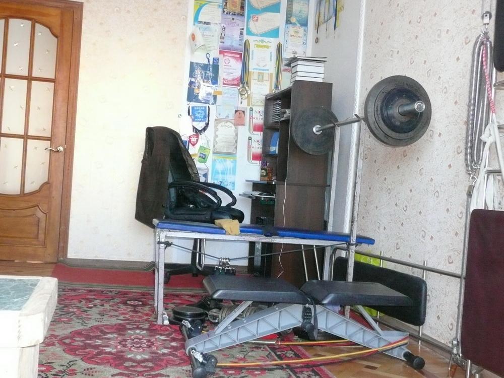 Как из одной комнаты сделать спортзал и комнату
