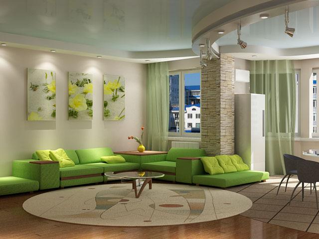 Гостиная комната – лицо дома