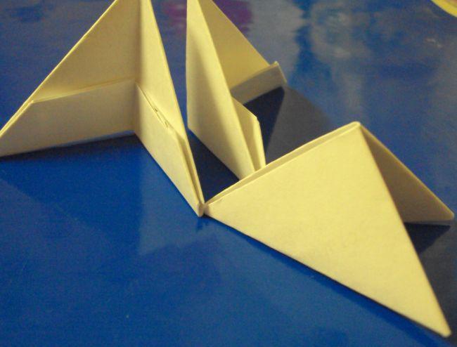 Бумажные зайчата