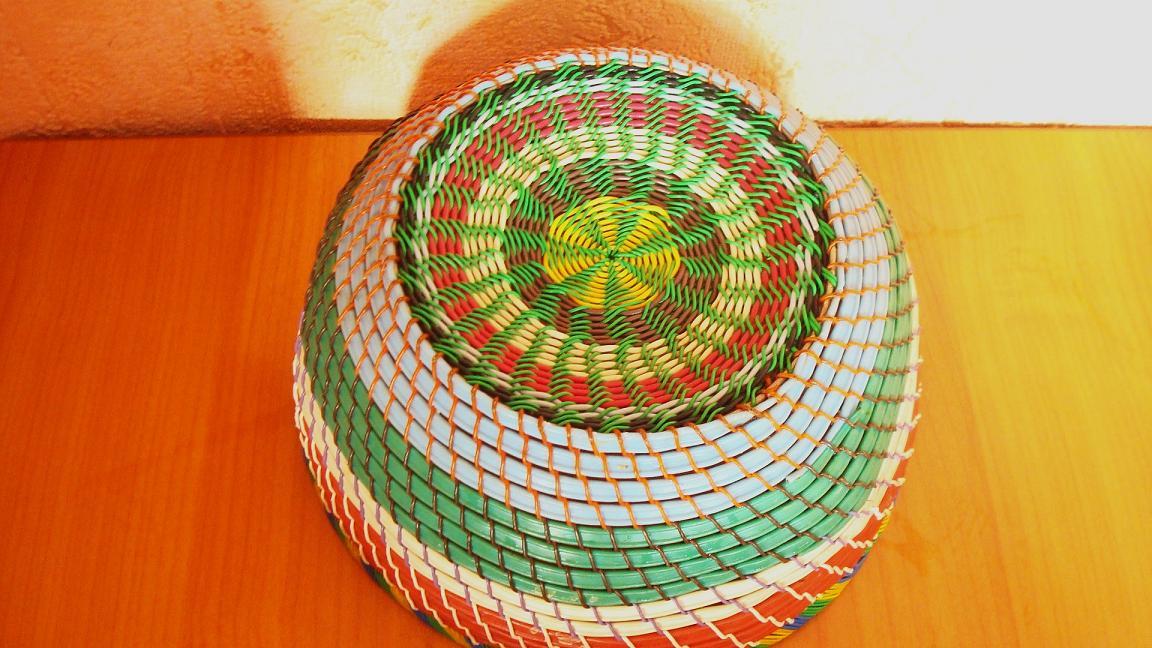 Плетение корзинок из проволоки своими руками 97