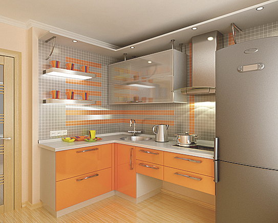 Кухонный уголок для маленькой кухни своими руками