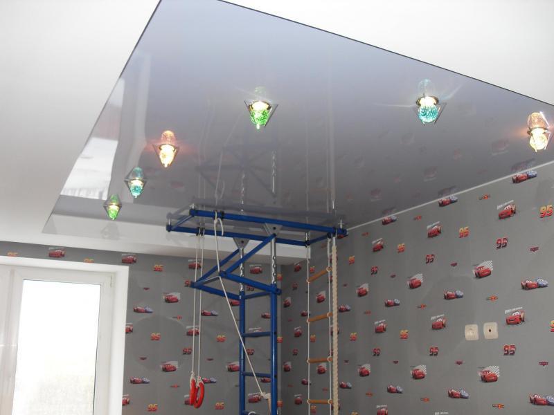 Отделка потолка в детской фото 6
