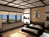 Спальня в японском стиле - релаксация и созерцание