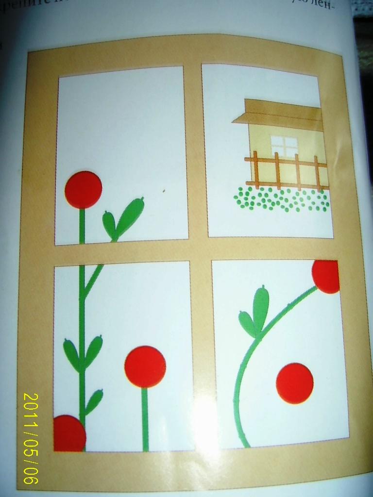Контур рисунка для вышивки
