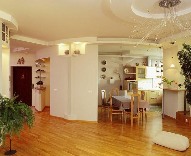 Дизайн столовой кухни в фото примерах.