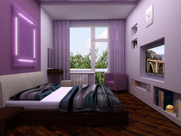 Дизайн интерьера гостиной спальни.