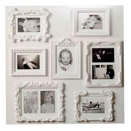Оформить стену фотографиями своими руками