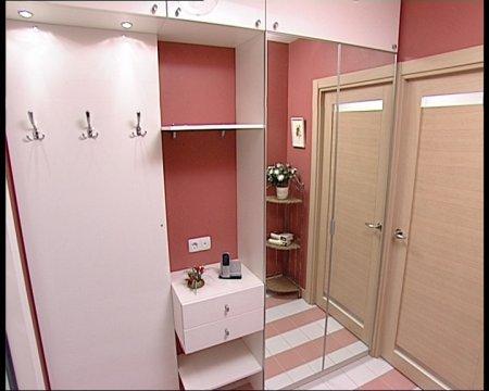 Интерьер прихожей для небольших квартир