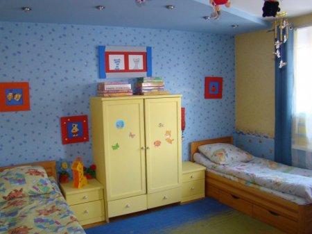 Комната для девочки получилась менее