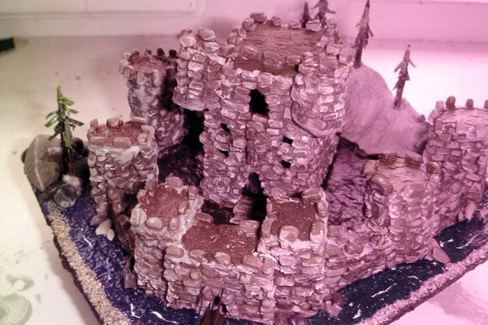Средневековый замок!