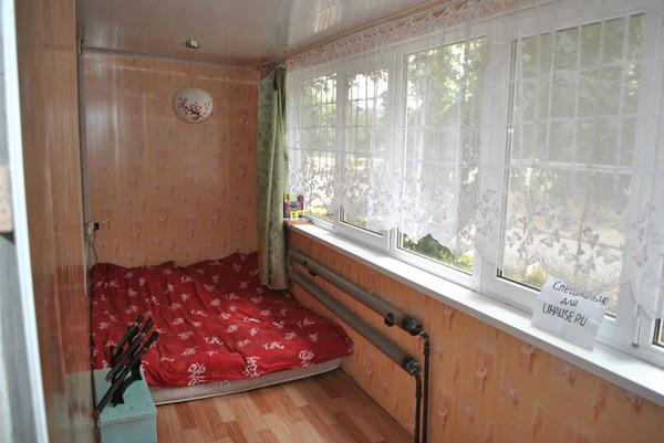 Как сделать жилую комнату на лоджии.