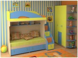 Детская, интерьер детской, дизайн детской комнаты