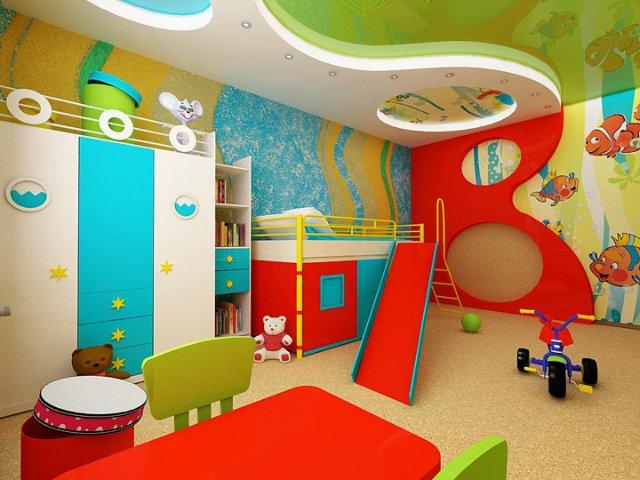 Какие материалы использовать при ремонте детской