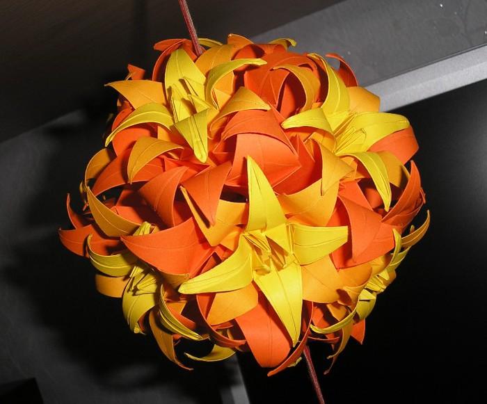 Схемы кусудамы  схемы оригами  Из Бумаги