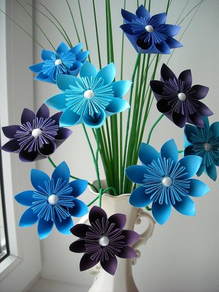 Поделки цветы своими руками из бумаги