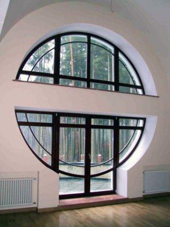 Нестандартные окна – изюминка вашего интерьера