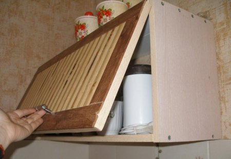 Навесной шкаф на кухню своими руками 25