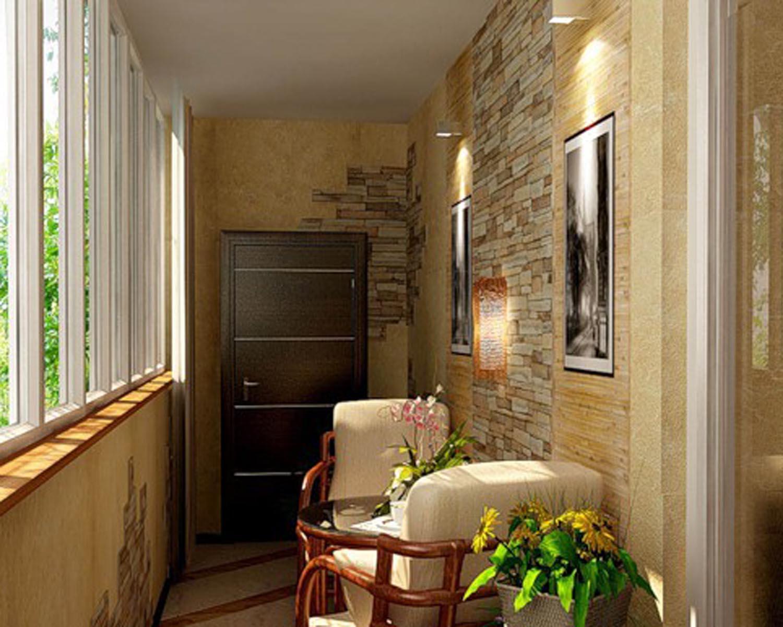 Застекленный балкон или лоджия