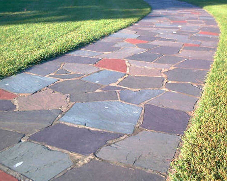 Как правильно сделать садовую дорожку из тротуарной плитки
