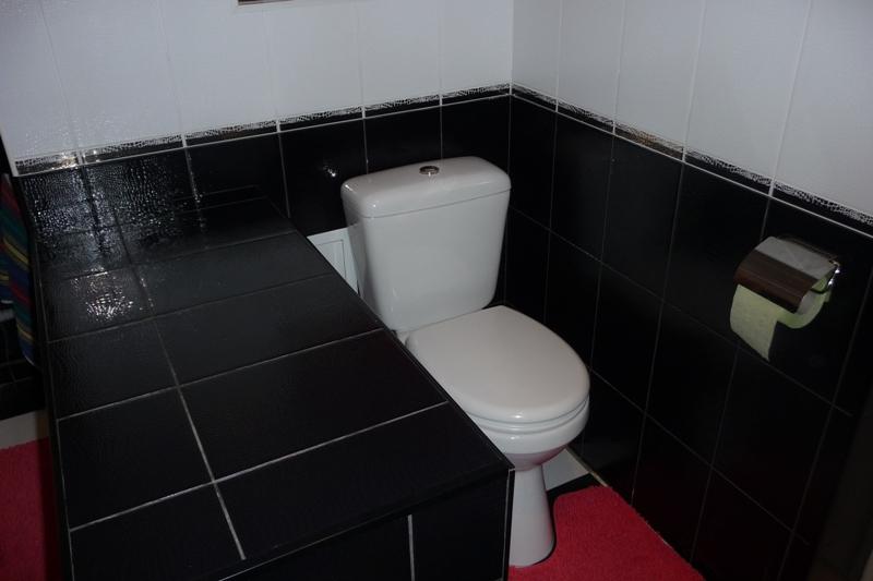 Черно белая плитка в интерьере