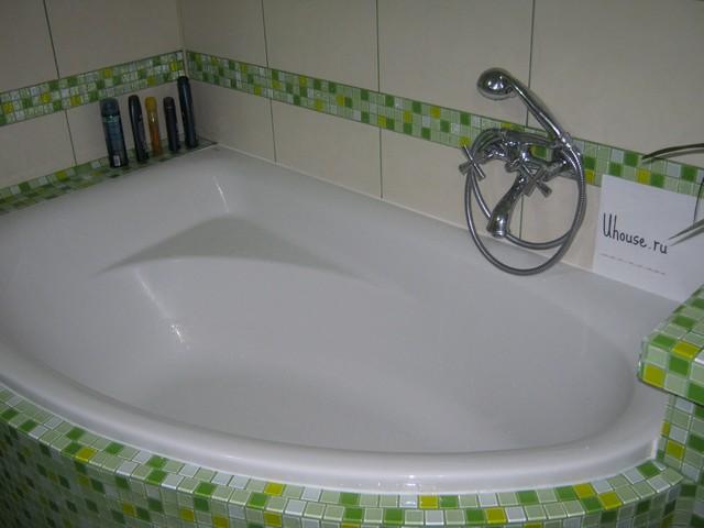 Экран под ванну полукруглую