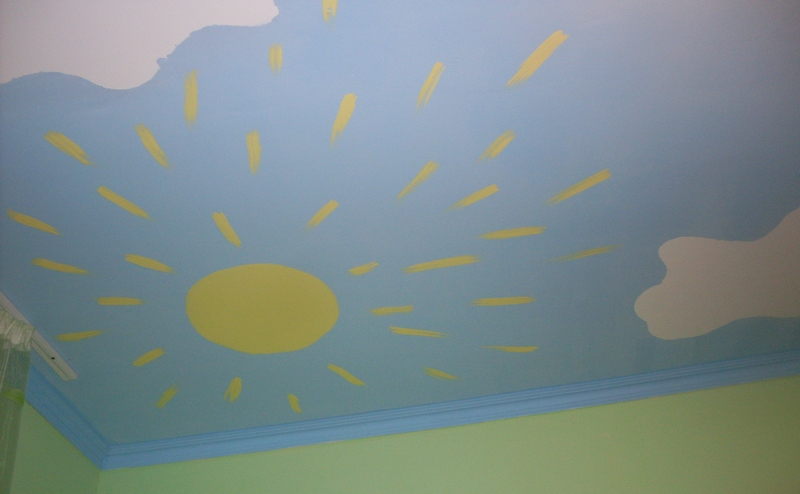 Облака под потолком своими руками 2