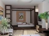 Кровать–подиум в интерьере