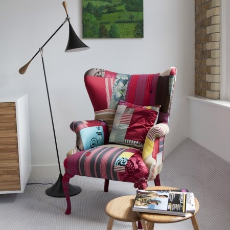 Мебельный позитив в стиле пэчворк