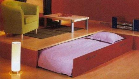 кровать подиум своими руками.