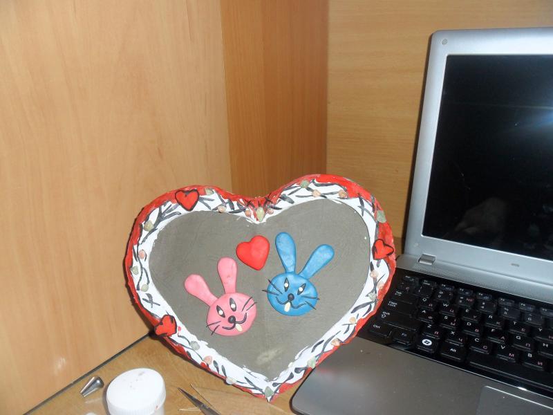 Рамки для фото своими руками ко дню валентина