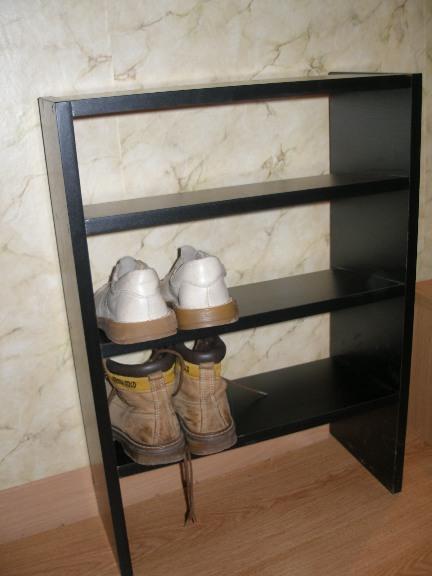 Войт: эскиз подставки для обуви