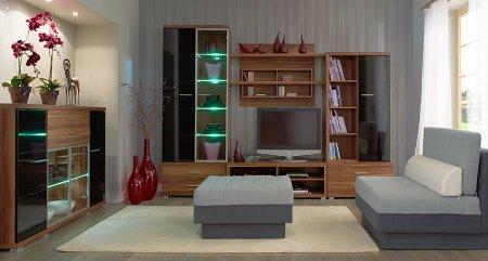 Модульная мебель для гостиной, модульные системы, стенки, горки