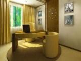 Как оформить помещение кабинета в доме?