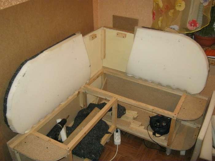 Угловая кухня своими руками реальные фото, видео, советы