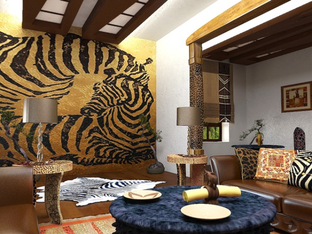 Этнический стиль декора помещений