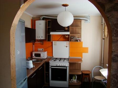 Как сделать арку своими руками на кухне