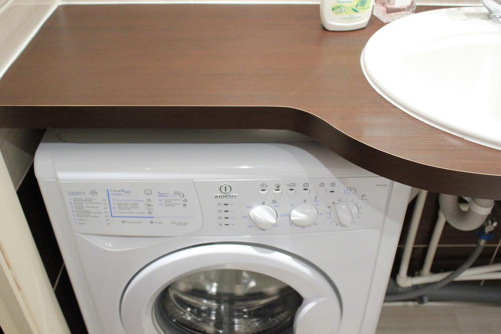 Совмещённый санузел с ванной и стиральной машиной дизайн 3 кв м