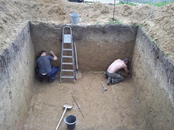 Как вырыть погреб на даче