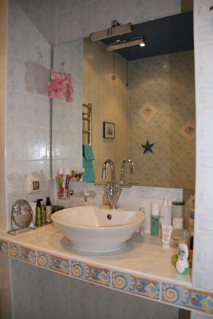 Столешница для ванны из плитки