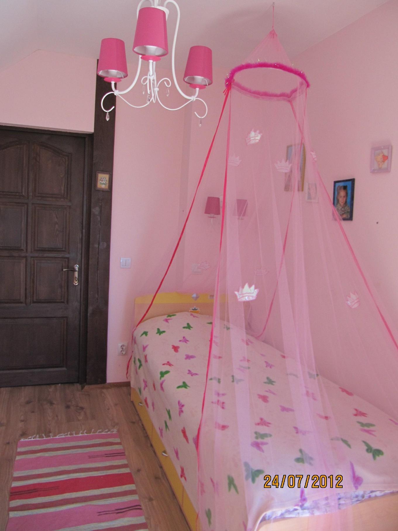 Балдахины над кроватью фото детские своими руками